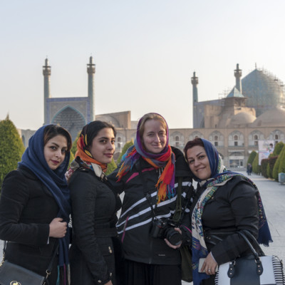 Couchsurfing in Iran con Margherita e Nick di The Crowded Planet