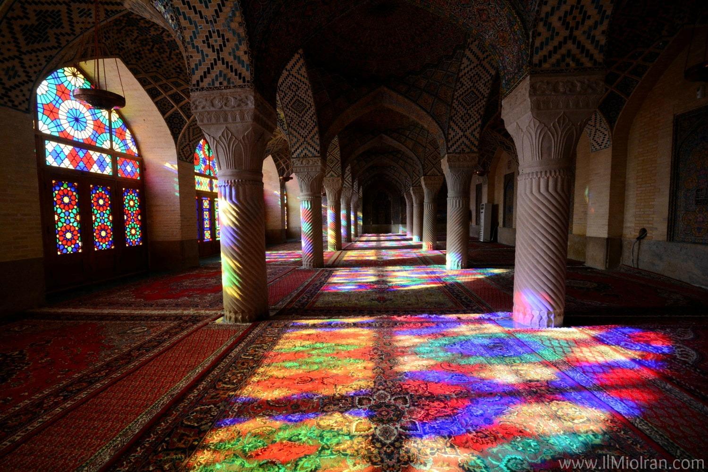 Cosa vedere in Iran - Moschea Nasir al-Mulk