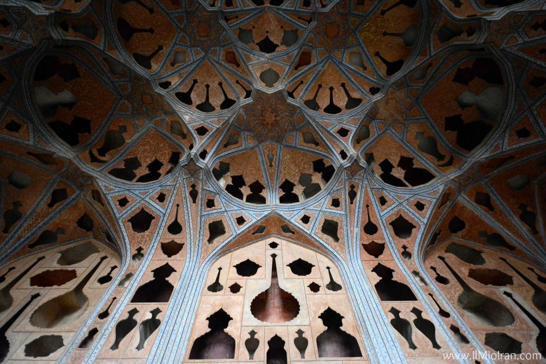 Cosa vedere in Iran - Palazzo di Ali Qapu a Isfahan