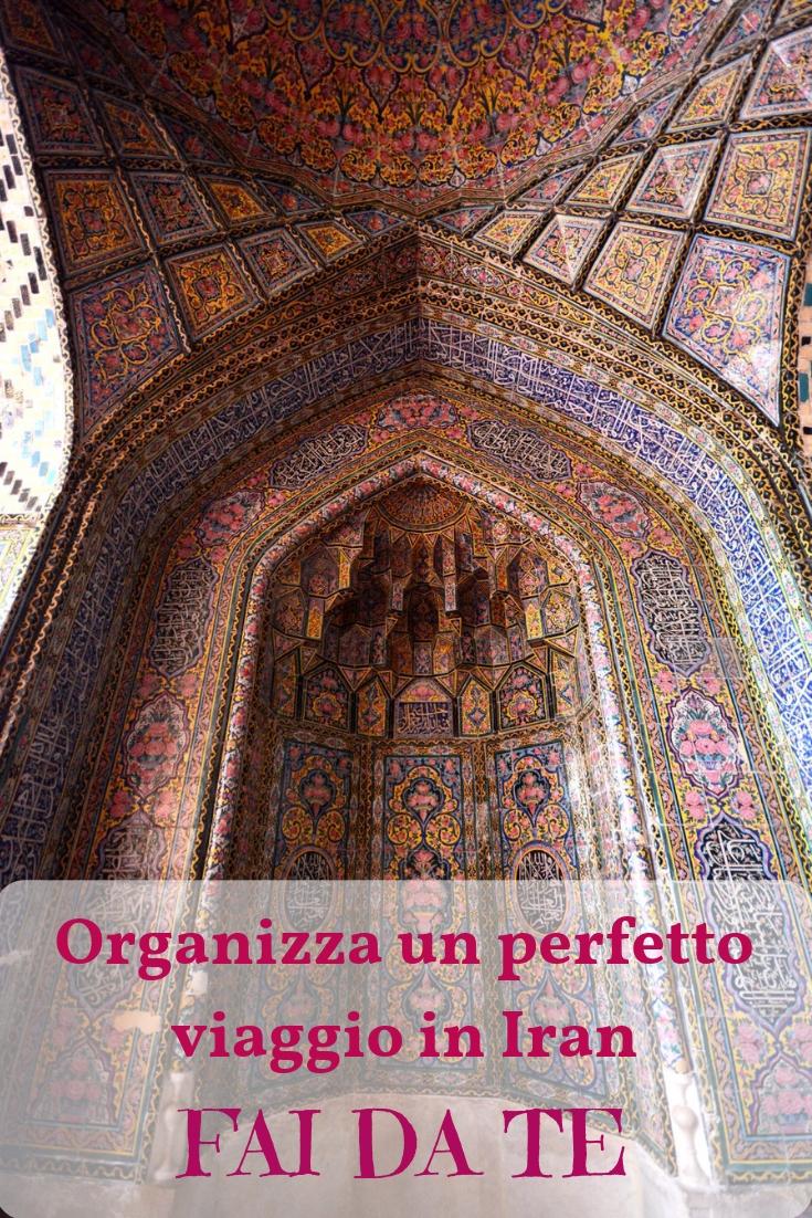 Shiraz una delle città da includere nel tuo viaggio in Iran fai da te