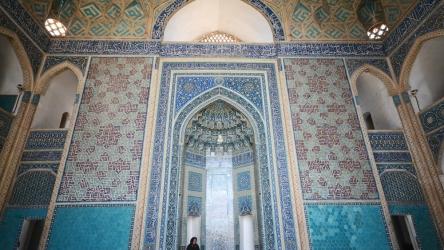 Un viaggio nel viaggio: i simboli della grande moschea di Yazd