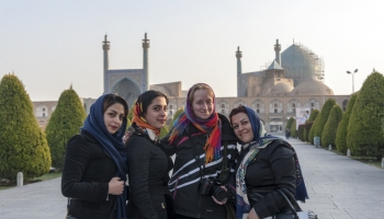 Couchsurfing in Iran con Margherita e Nick di The Crowded Planet
