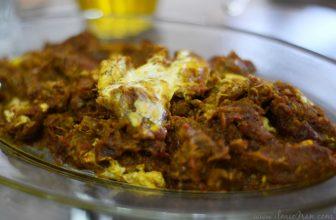 Mirza Ghasemi, piatto vegetariano del nord dell'Iran